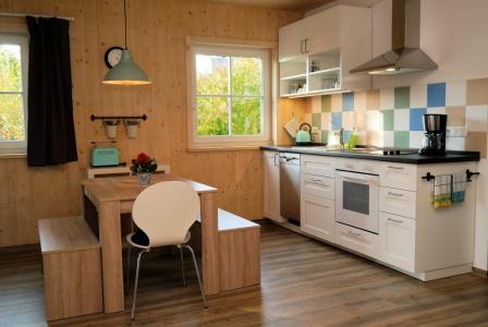 Apt. 1 Fühlen Sie sich wohl in der komplett ausgestatteten Küche.