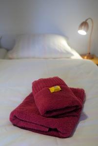 Sie erhalten selbstverständlich Handtücher für Ihren Aufenthalt.