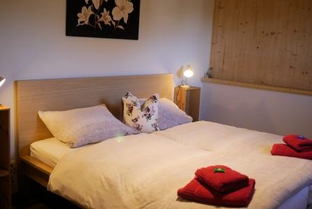 Apt. 2 Unser gemütliches und geräumiges Schlafzimmer.